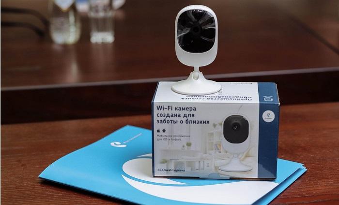 как пользоваться камерой умный дом от ростелеком