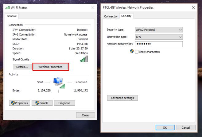 как узнать пароль от wi fi ростелеком windows