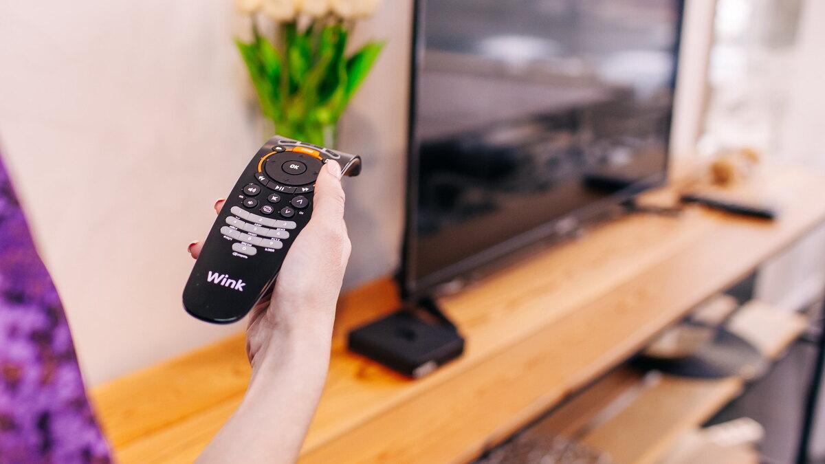 Как настроить пульт Wink на телевизоре